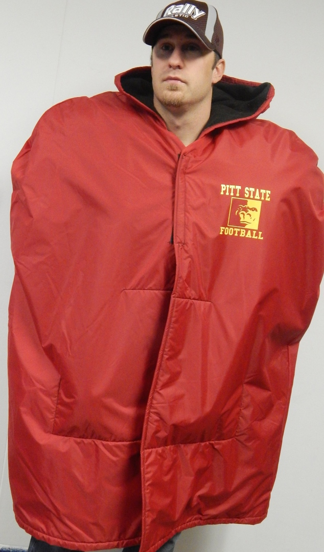 Rally Athletic Custom Athletic Bags   Apparel - SPECTATOR CAPE 175c355a8